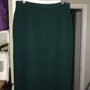 Emerald green Pencil skirt